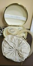 General Electric Vintage Portable Deluxe Hair Dryer TESTED WORKS