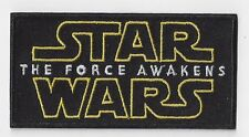 Larger STARWARS  Iron On Patch 4 inch x 2 inch BUY 2 OF THESE GET 3 OF THESE