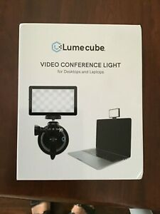 LUME CUBE Video Conference Light for Desktops and Laptops NIB