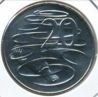 Australia, 2007 Twenty Cents, 20c, Elizabeth II - Gem Uncirculated