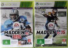 Madden NFL 25 and Madden NFL 15 Microsoft Xbox 360