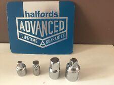 "Halfords Advanced Professional 4 Piece Adaptor Set 1/4"" 3/8"" 1/2"" Drives"