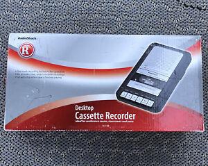 Radio Shack 14-109 Desktop Cassette Recorder New In Box!