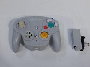 Nintendo GameCube Wireless WaveBird Controller and Receiver (DOL-004, DOL-005)