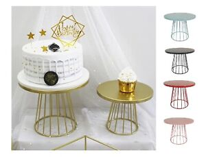 20/25cm Metal Cake Stand Dessert Display Rack Wedding Birthday Party Decorations