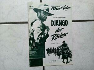 Django -der Rächer (Franco Nero) FilmProgramm -50-60 er Jahre- ,org.- Nr. 171
