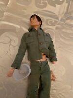 1964 Hasbro G.I. Joe Action Figure dressed  P74