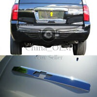 For Chevy TAHOE 2015 16 17 Chrome Covers Door Handles Smart Tailgate Trunk Lg
