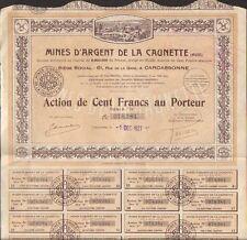 DECO => Mines d'Argent de la CAUNETTE (AUDE 11) (T)