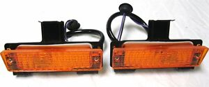 1968 Chevrolet Amber Parking Lamp Assembly 68 Chevy Park