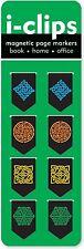 Celtic i-Clip Magnetic Page Markers Cool Design (Set of 8 Magnetic Bookmarks)