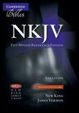 Cambridge NKJV Pitt Minion - Brown Goatskin