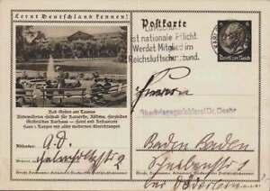 D.Reich Ganzsache P 236 BAD SOODEN gelaufen KARLSRUHE  (43014)