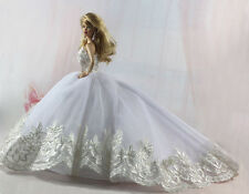 Fashion Handmade Princess Dress Wedding Clothes Gown for Barbie Doll L91