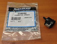 NEW OEM MerCruiser Alpha I one gen 2 II Speedometer Speedo Connector  22-860382