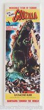 Godzilla (1954) FRIDGE MAGNET (1.5 x 4.5 inches) insert movie poster