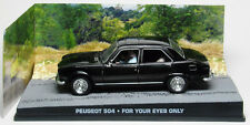 PEUGEOT 504 JAMES BOND 007 FOR YOUR EYES ONLY 1/43 UNIVERSAL HOBBIES DIORAMA
