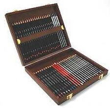 Derwent Sketching Pencils 48 Wooden Box