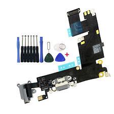 OEM USB Charging Port Charger Dock Mic Headphone Flex For iPhone 6 PLUS 5.5 Gray