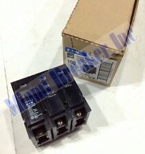 CUTLER HAMMER BR3100 NEW CIRCUIT BREAKER 100A 3 POLE 240 VAC (Box Of 5)