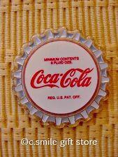 Coca Cola *Coke Bottle Cap Magnet* Acrylic NEVER USED!