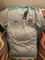 Adidas Colorado Rapids MLS  Soccer Jersey NWT Size L Men