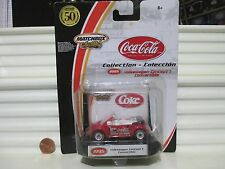 Matchbox 2002 Premiere Coca Cola Red VW Volkswagen Concept 1 Convertible NuBoxed