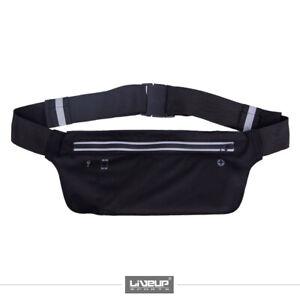 Running Belt Jogging Waist Pack Travel Phone Keys Mobile Money Workout Bag - UK