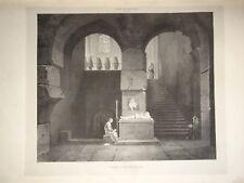 CLERIAN (1796-1843) GRANDE LITHO VALENTINE VISCONTI DUCHESSE ORLEANS MILAN 1825