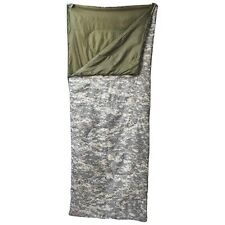 Maxam Digital Camo Sleeping Bag w/ Drawstring Storage Sack Warm Weather Camping
