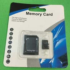 64GB Micro SD Card  TF Flash Memory Card With Adapter Class 10 Good