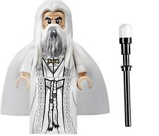 LEGO LORD OF THE RINGS MINIFIGURE SARUMAN WHITE WIZARD 10237 TOWER OF ORTHANC