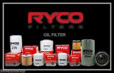Z442 RYCO OIL FILTER fit Nissan MICRA K12 Petrol 4 1.4 CR14DE 10/07 09/10