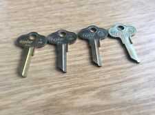 Chrysler Outboard CH7 Key Blanks by Taylor; Set Of 4- unique color/patina