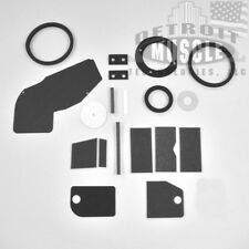 Mopar A Body 63 64 65 66 NON AC Heater Box Restoration Rebuild Kit Seals DMT