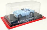 Altaya 1/43 Scale Model Car G1193059 - 1959 Austin Healey Frogeyes- Blue