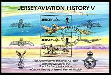 Jersey - 1993 Royal Airforce / Airplanes - Mi. Bl. 7 VFU