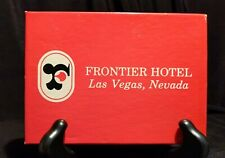 Frontier Hotel Casino Playing Cards Las Vegas Nevada Complete Open decks