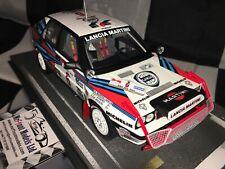 1:18 BBR Miki Biasion Lancia Delta Integrale HF 8V #6 Winner Rally Safari 1988