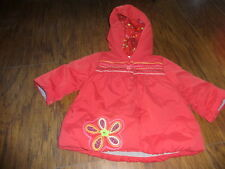 BOUTIQUE CATIMINI 6M 6 MONTHS 67 RED FLORAL COAT