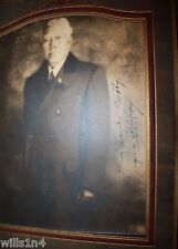 Signed Photograph Bishop & Filipino Guerrilla Leader Clergy Gregorio Aglipay