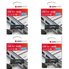 AgfaPhoto USB 3.0 16GB 32GB 64GB 128GB Memory Stick Flash Drive OFFICIAL STOCK