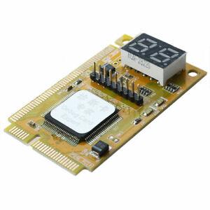 3in1 2-Digit Mini PCI/Mini PCI-E/LPC Laptop Analyzer Debug Test POST Card