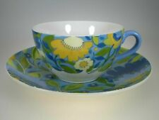 NEW Spode Kim Parker Chicory Hymn Coffee Cup & Saucer 11oz Floral in GIFT BOX!!!