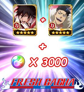 Bleach Brave Souls BBS Fresh Global Ichigo 5th Anni + Bruno BTW + 3000 orb