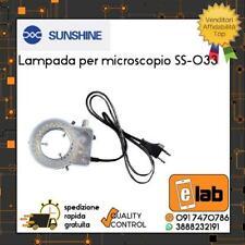 LAMPADA PER MICROSCOPIO SS-033 SUNSHINE LUCE LED RIPARAZIONE SMARTPHONE IPHONE