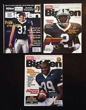Penn State Football - Athlon Sports Big Ten Preview Magazines - Lot Of 3