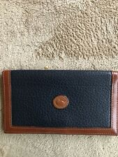 DOONEY & BOURKE AWL CHECK BOOK COVER VINTAGE