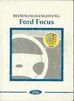 FORD   FOCUS  1 Betriebsanleitung 1999 Bedienungsanleitung Handbuch Bordbuch BA