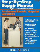 Step-by-Step Repair Manual for General Electric/Hotpoint Washers PB 1983   RM